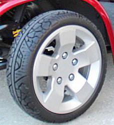 Solid Mobility Scooter Tires