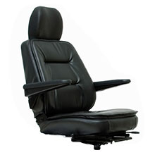 Upgraded Cushion Seat with Recline and Extra Width