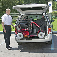 Vehicle Lift for Scooters