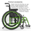 Helio A6 Folding Wheelchair by Motion Composites