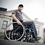Helio A7 ultralight folding wheelchair by Motion Composites