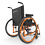 Helio C2HD Ultralight wheelchair by Motion Composites