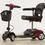 Pride Go-Go Elite Traveller 4-Wheel Travel Mobility Scooter