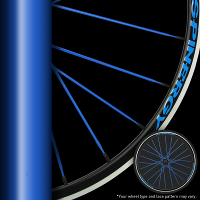 Blue Spokes