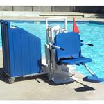 Aqua Creek Patriot Portable Pool Lift
